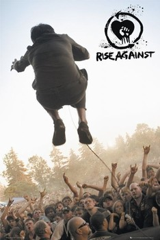 Rise against - music Poster