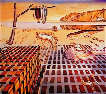 Salvador Dali - The Disintegration Reproducere