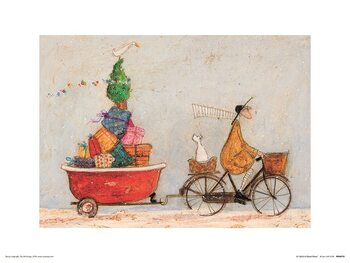 Sam Toft - A Tubful of Good Cheer Reproducere