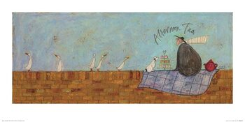 Sam Toft - Afternoon Tea Reproducere