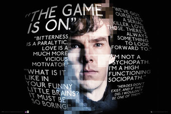 Sherlock - Sherlock Quotes Poster