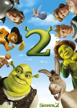 SHREK  2 - one sheet Poster
