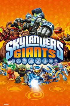 Skylanders Giants - characters  Poster