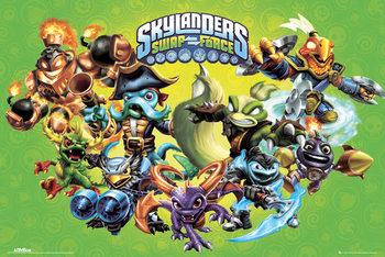 Skylanders swap force - landscape  Poster