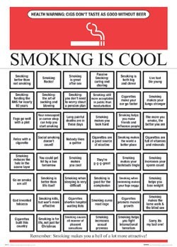 Smoking is cool Poster