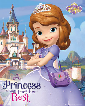 SOFIA THE FIRST - castle Poster