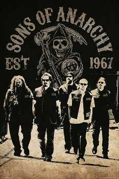 Sons of Anarchy - Reaper Crew Poster