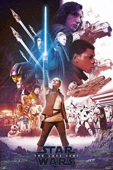 Star Wars: The Last Jedi - Blue Saber Poster