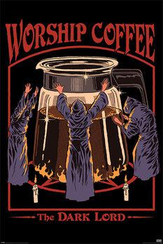 Steven Rhodes - Worship Coffee Poster
