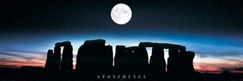 Stonehedge - colour Poster