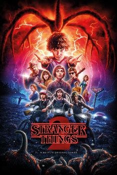 Poster Stranger Things - One-Sheet Season 2