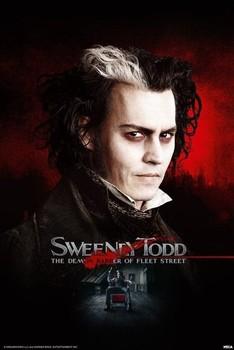 SWEENEY TODD - razor Poster