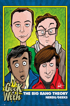 THE BIG BANG THEORY - Geeks Poster