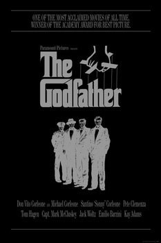 THE GODFATHER - the corleone family Poster