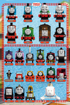 Thomas and Friends - Characters Poster