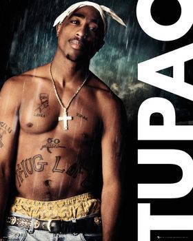 Tupac - Rain Poster
