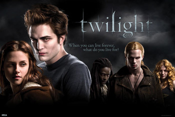 TWILIGHT - u.k quad Poster