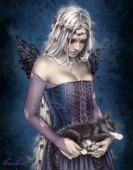 Victoria Frances - angel Poster