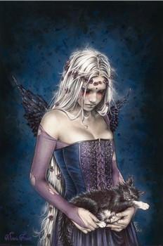 Victoria Frances - angel of death Poster