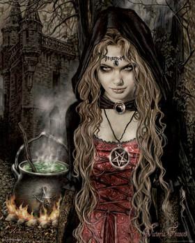 Victoria Frances Poster