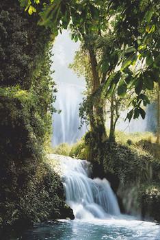 Waterfalls - Zaragoza Poster