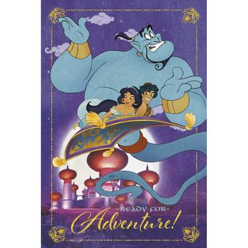 Poster Disney - Aladdin