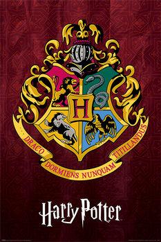 Poster Harry Potter - Hogwarts School Crest