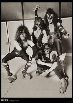 Poster Kiss - Amsterdam 1976