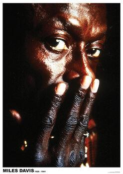 Poster Miles Davis - 1926-1991