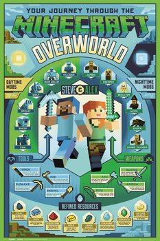 Poster Minecraft - Overworld Biome