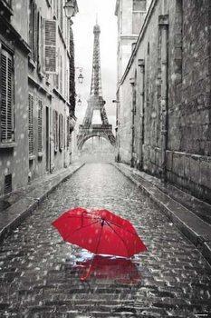 Poster Paris - Eiffel Tower Umbrella