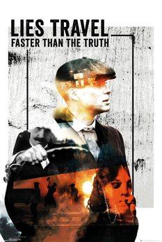 Poster Peaky Blinders - Lies Travel