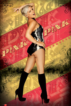 Poster Pink - funhouse