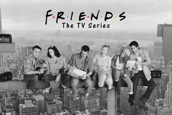 Poster Prijatelji - Ručak na neboderu
