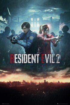 Poster Resident Evil 2 - City Key Art