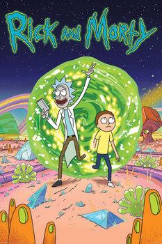 Poster Rick & Morty - Portal