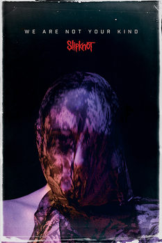 Poster Slipknot - We Are Not Your Kind