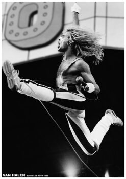 Poster Van Halen - David Lee Roth 1980