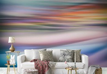 Abstract Lights Poster Mural XXL