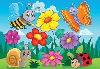 Cartoon Bugs Poster Mural XXL