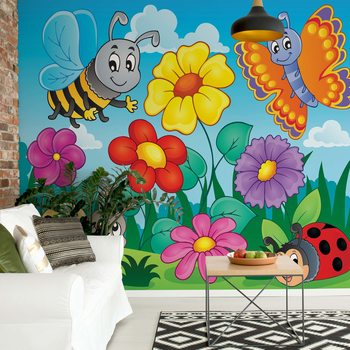 Cartoon Bugs Poster Mural XXL
