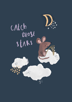 Catch those stars. Poster Mural XXL