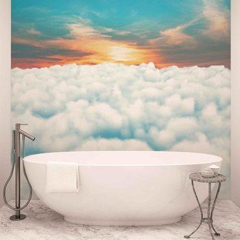 Ciel Nuages Coucher de Soleil Poster Mural XXL