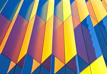 Color Cascade Poster Mural XXL