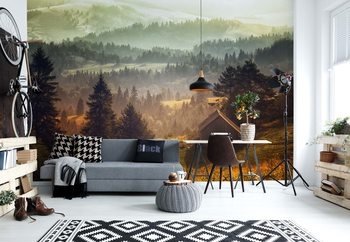 Cottage With Views Poster Mural XXL