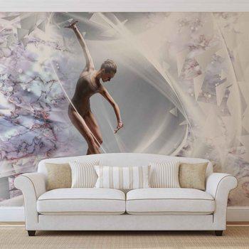 Danseur Abstrait Poster Mural XXL