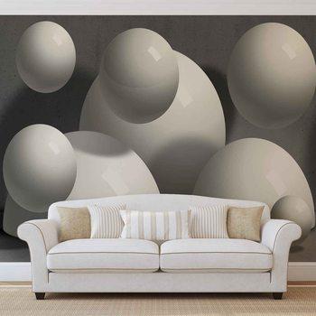 Design Moderne Monochrome Abstrait Poster Mural XXL