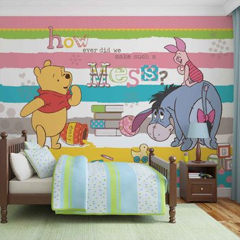 Disney Winnie l'Ourson Bourriquet Porcinet Poster Mural XXL