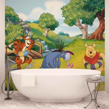 Disney Winnie l'Ourson Tigrou Bourriquet Porcinet Poster Mural XXL