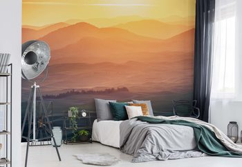 Dreamy Morning Poster Mural XXL